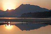 Mekong River at Ban Saylom, south of Luang Prabang, Laos.