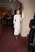 FIONA SCARRY, The Secret Winter Gala in aid of Save the Children and sponsored by Bulgari. Guildhall. London. 26 November 2013
