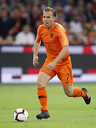 Ruud Vormer of Holland during the International friendly match match between The Netherlands and Peru at the Johan Cruijff Arena on September 06, 2018 in Amsterdam, The Netherlands