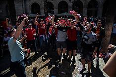 Liverpool Hooligans In Barcelona - 01 May 2019