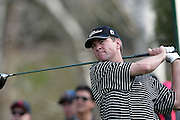 Professional golfer Davis Love III hits a drive in a round two match at the Accenture Match Play Championship World Golf Championships held at the La Costa Resort and Spa on February 27, 2004 in Carlsbad, California. ©Paul Anthony Spinelli
