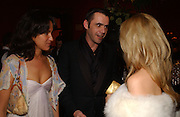 Coco Brandolini and Roland Mouret. Belle Epoche gala fundraising dinner. National Gallery. 16 March 2006. ONE TIME USE ONLY - DO NOT ARCHIVE  © Copyright Photograph by Dafydd Jones 66 Stockwell Park Rd. London SW9 0DA Tel 020 7733 0108 www.dafjones.com