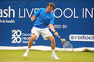 Picture by Ste Jones/Focus Images Ltd.  07706 592282.21/06/12.Greg Rusedski (GBR) during the +medicash Liverpool International 2012 tennis at Calderstones Park, Liverpool.