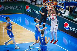Bas Goktug of Turkey  during basketball match between National teams of Turkey and Slovenia in the SemiFinal of FIBA U18 European Championship 2019, on August 3, 2019 in Nea Ionia Hall, Volos, Greece. Photo by Vid Ponikvar / Sportida