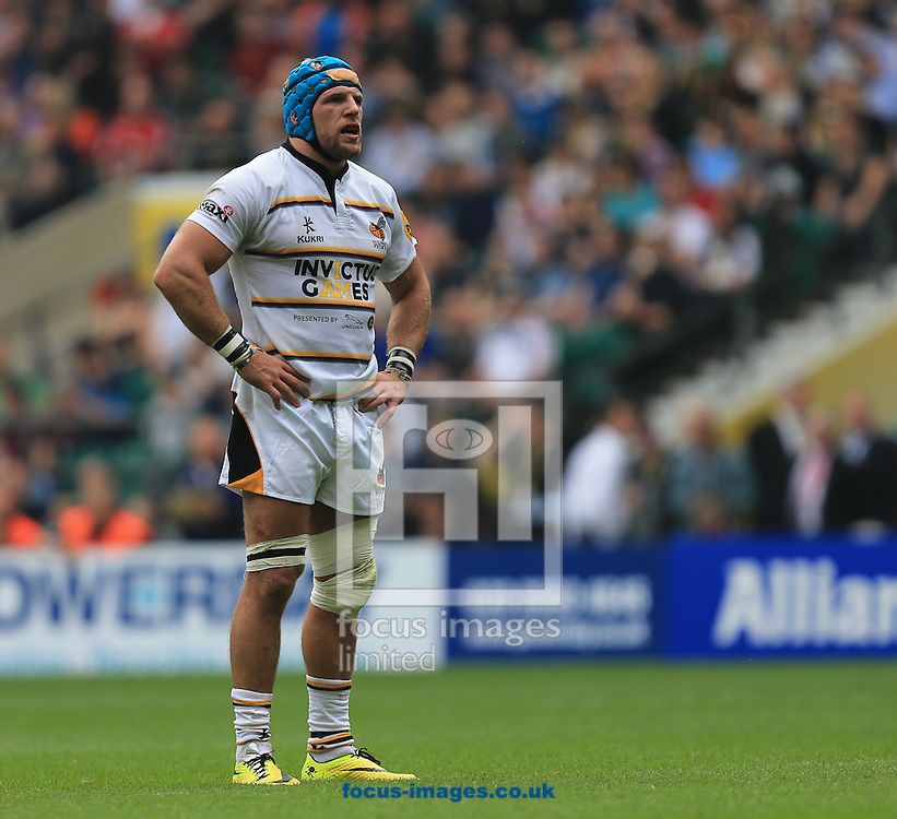 James Gaskell of london Wasps during the Aviva Premiership match at Twickenham stadium, London<br />