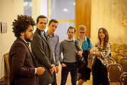 A morning visit with deputy Dominik Feri at The Chamber of Deputies (Czech: Poslanecká sněmovna) in Prague during a guiding tour with a group of students. Dominik Feri (born 11 July 1996) is a Czech politician, member of the liberal conservative TOP 09 party. He is the youngest member of the Chamber of Deputies in the history of the Czech Republic following the 2017 legislative election.