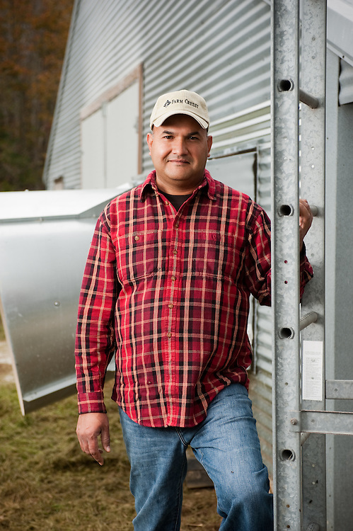Poultry grower Mohammad Iqbal , Snow Hill Maryland