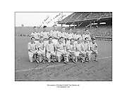 Signed team shot of 1962 All Ireland Football Final runners up Roscommon. 23rd September 1962, 23/09/1962.