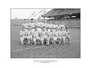 Signed team shot of 1962 All Ireland Football Final runners up Roscommon. 23rd September 1962, 23/09/1962.