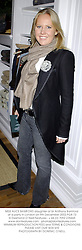 MISS ALICE BAMFORD daughter of Sir Anthony Bamford at a party in London on 9th December 2002.PGB 73