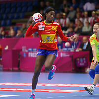 Spain - Kazakhstan,2015 IHF WOMEN HANDBALL WORLD CHAMPIONSHIP