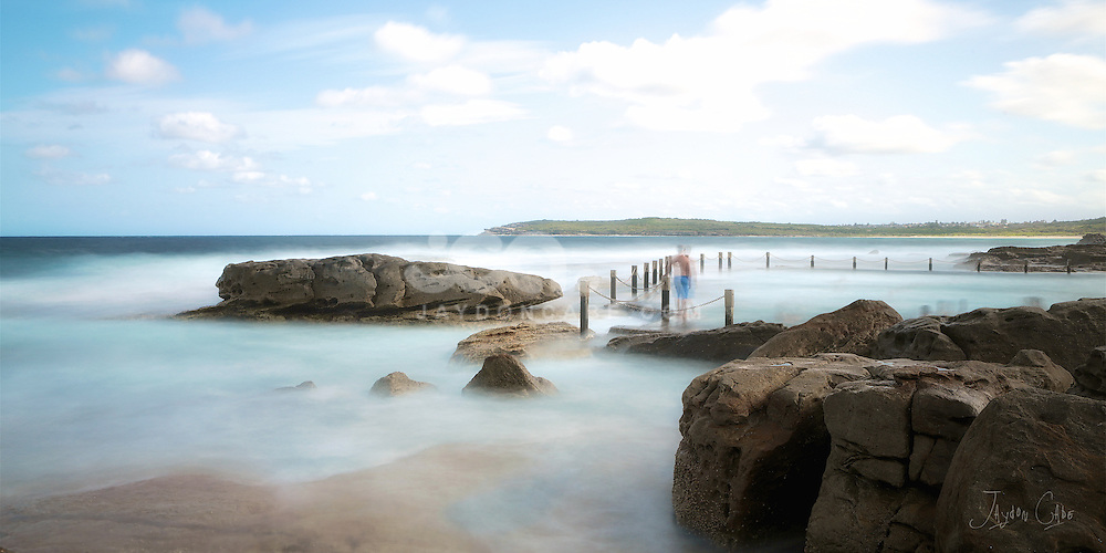 Spent a few hours relaxing at my favourite beach side pool. #Maroubra, #ocean #seascape #oceanpool #sydneyseascape