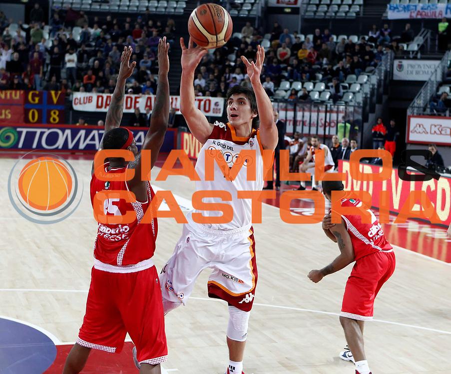 DESCRIZIONE : Roma Lega A 2010-11 Lottomatica Virtus Roma Cimberio Varese<br /> GIOCATORE : Nihad Dedovic<br /> SQUADRA : Lottomatica Virtus Roma<br /> EVENTO : Campionato Lega A 2010-2011 <br /> GARA : Lottomatica Virtus Roma Cimberio Varese<br /> DATA : 05/12/2010<br /> CATEGORIA : tiro<br /> SPORT : Pallacanestro <br /> AUTORE : Agenzia Ciamillo-Castoria/ElioCastoria<br /> Galleria : Lega Basket A 2010-2011 <br /> Fotonotizia : Roma Lega A 2010-11 Lottomatica Virtus Roma Cimberio Varese<br /> Predefinita :