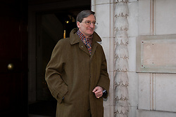 © Licensed to London News Pictures. 13/12/2018. London, UK. Conservative MP Dominic Grieve leaves 4 Millbank. Yesterday, British Prime Minister Theresa May won the backing of her party to stay on as Prime Minister, following a vote of no confidence. Photo credit : Tom Nicholson/LNP