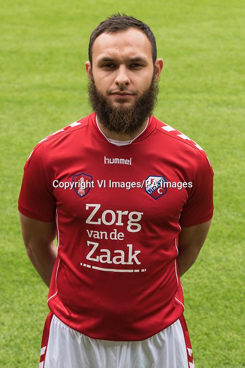 Nacer Barazite during the team presentation of FC Utrecht on July 23, 2015 at the Galgenwaard Stadium in Utrecht, The Netherlands
