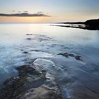Rocks on the Shoreline at Castle Sands St Andrews Fife Scotland