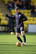 16th February 2019, Tony Macaroni Arena, Livingston, Scotland; Ladbrokes Premiership football, Livingston versus Dundee; Andrew Nelson of Dundee during the warm up before the match