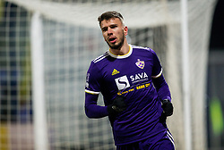 JanMlakar of NK Maribor after he scored first goal for Maribor during football match between NK Domzale and NK Maribior in 18th Round of Prva liga Telekom Slovenije 2018/19, on November 11, 2018 in Sportni Park, Domzale, Slovenia. Photo by Vid Ponikvar / Sportida
