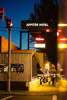 Jupiter Hotel in east Portland, Oregon.