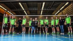 05-10-2016 NED: Selectie SSS 2016-2017, Barneveld<br /> De spelers van eredivisie club SSS voor het seizoen 2016-2017 / Teamfoto SSS
