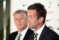 06/06/14<br /> CELTIC PARK - GLASGOW<br /> New Celtic manager Ronny Deila speaks to the press about his new role.
