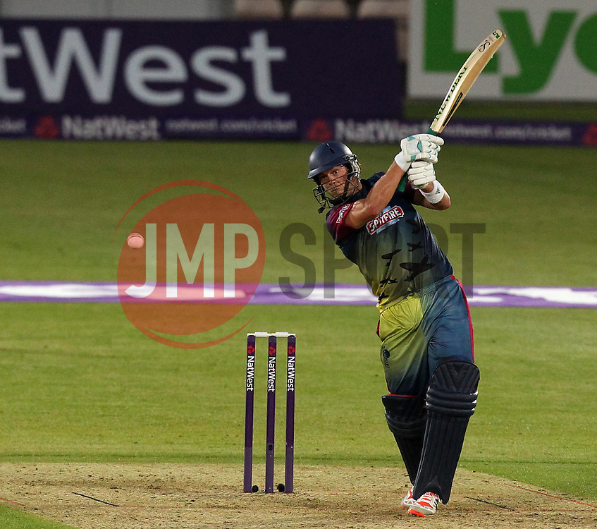 Kent's Sam Northeast - Photo mandatory by-line: Robbie Stephenson/JMP - Mobile: 07966 386802 - 22/05/2015 - SPORT - Football - Southampton - Ageas Bowl - Hampshire v Kent Spitfires - T20 Blast