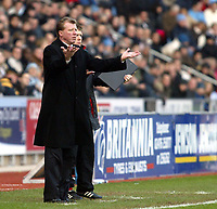 Photo: Chris Ratcliffe.<br />Coventry City v Middlesbrough. The FA Cup. 28/01/2006.<br />Steve McLaren asks where Boro are going.