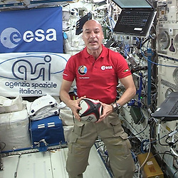 Italian European Space Agency astronaut Luca Parmitano