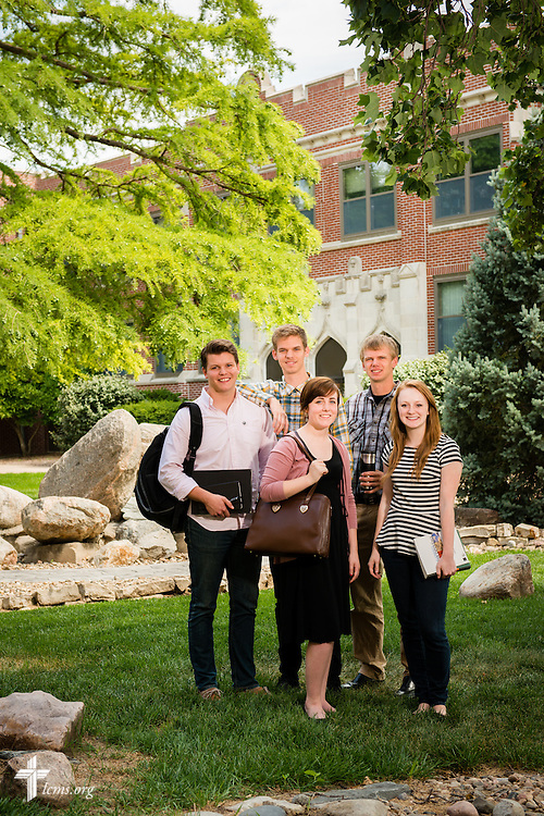 A portrait of students on Tuesday, July 29, 2014, at Concordia University, Nebraska, in Seward, Neb. LCMS Communications/Erik M. Lunsford
