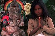 Ganesh shrine. near Agrapatana..