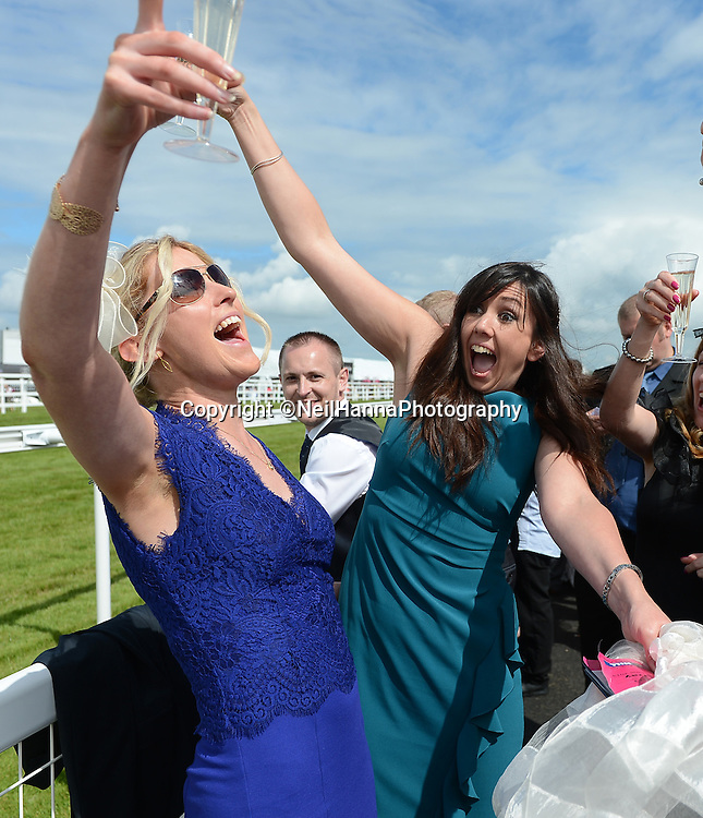 Musselburgh Racecourse<br /> So Stobo-Ladies Day 2014<br /> All the fun in the sun at Musselburgh<br /> <br /> Pictures by  Neil Hanna  - mobile 07702246823
