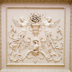 Wentworth Woodhouse ceiling detail<br />