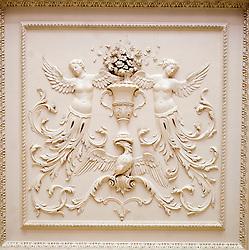 Wentworth Woodhouse ceiling detail<br /> <br /> 26 June 2013<br /> Image &copy; Paul David Drabble<br /> www.pauldaviddrabble.co.uk