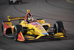 April 6, 2018 - Phoenix, AZ, U.S. - PHOENIX, AZ - APRIL 07: Driver Ryan Hunter-Reay finished fifth (5) in the Verizon IndyCar Series Desert Diamond West Valley Casino Phoenix Grand Prix on April 7, 2018, at ISM Raceway in Phoenix, AZ. (Photo by Grant Exline/Icon Sportswire) (Credit Image: © Grant Exline/Icon SMI via ZUMA Press)