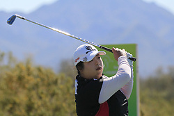 March 22, 2019 - Phoenix, AZ, U.S. - PHOENIX, AZ - MARCH 22: Shanshan Feng during the second round of the Bank of Hope LPGA Golf Tournament at the Wildfire Golf Club at JW Marriott Phoenix Desert Ridge Resort & Spa, March 22, 2019 in Phoenix, Arizona (Photo by Will Powers/Icon Sportswire) (Credit Image: © Will Powers/Icon SMI via ZUMA Press)