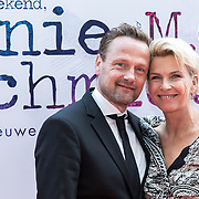 NLD/Amsterdam/20170924 - Première Was Getekend, Annie M.G. Schmidt, Anita Witzier en partner Michel Nillesen