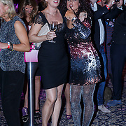 NLD/Amsterdam/20131111 - Beau Monde Awards 2013, Chimene van Oosterhout dansend