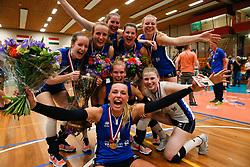 20180509 NED: Eredivisie Coolen Alterno - Sliedrecht Sport, Apeldoorn<br />Vreugde bij speelsters Sliedrecht Sport<br />©2018-FotoHoogendoorn.nl
