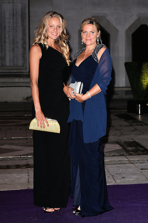 Sofya Zhuk and guest attend the 2015  Wimbledon Champions Dinner at The Guildhall, Gresham Street, London on Sunday 12 July 2015