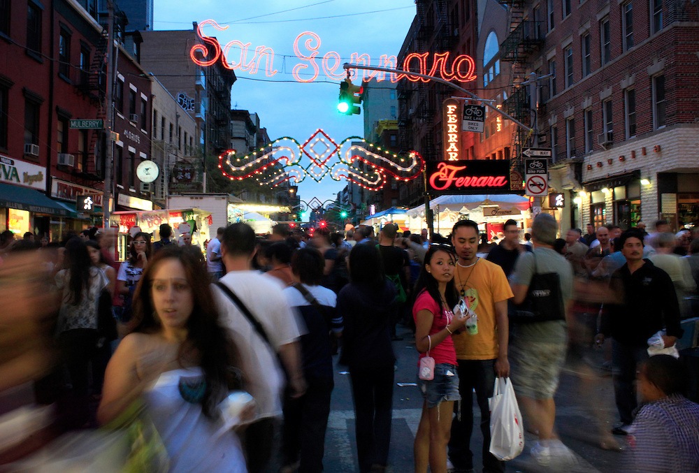 San Gennaro Festival in Little Italy.