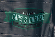 Event sign - Custom Cars & Coffee November 2014