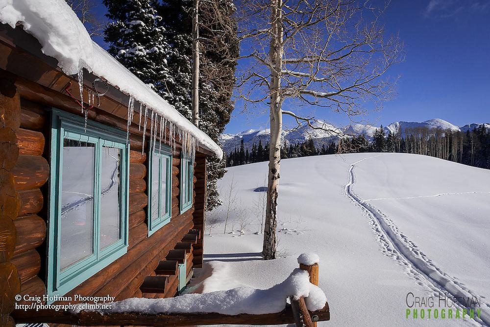 !0th Mountain Division Harry Gates Hut