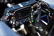 June 8-11, 2017: Canadian Grand Prix. Mercedes AMG F1 steering wheel detail