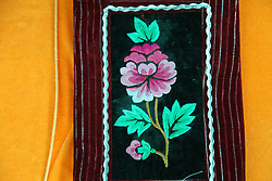 September 5, 2017 - Hami, Hami, China - Hami, CHINA-5th September 2017: (EDITORIAL USE ONLY. CHINA OUT) ..Exquisite Uygur embroidery artwork in Hami, northwest China's Xinjiang Uygur Autonomous Region. (Credit Image: © SIPA Asia via ZUMA Wire)