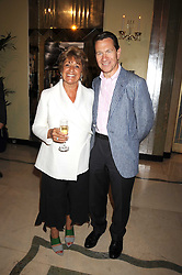 GEMMA LEVINE and MICHAEL PORTILLO at a party to celebrate the publication of Gemma Levine's book Mayfair, held at Claridge's, Brook Street, London on 16th June 2008.<br />