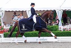 Lutkemeier Fabienne (GER) - D'Agostino 5<br /> European Championship Junior 2010 <br /> © Hippo Foto - Leanjo de Koster