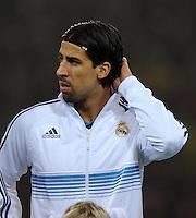 FUSSBALL   CHAMPIONS LEAGUE   SAISON 2012/2013   GRUPPENPHASE   Borussia Dortmund - Real Madrid                                 24.10.2012 Sami Khedira (Real Madrid)
