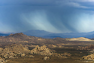 I don't know how much of this rain was hitting the ground. It was in the direction of Yucca Valley from Ryan Mountain.<br />