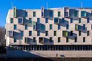 Europa, Deutschland, Koeln, das Hotel Artotel im Rheinauhafen. - <br /> <br /> Europe, Germany, Cologne, the hotel Artotel at the Rheinau harbor.