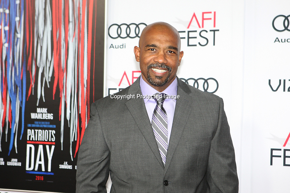 Actor Michael Beach attends the AFI Fest 2016 presented by AUDI closing night screening of Patriots Day at TCL Chinese Theatre, Hollywood, CA on November 17th